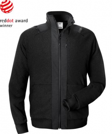 Fristads Green Fleece Jacket 4921 GRF (Black)